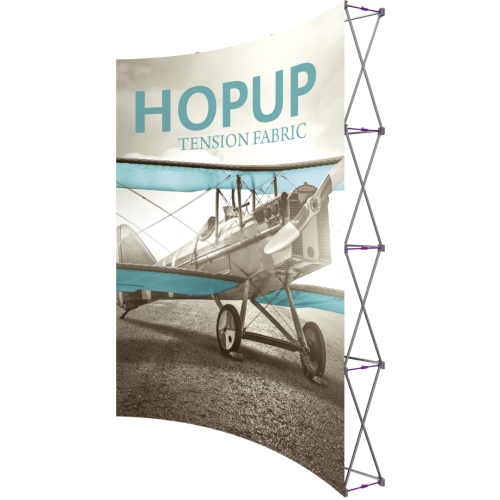 Hopup 7.5ft Curved Extra Tall Tension Fabric Display