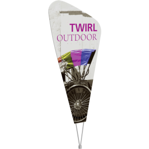 Twirl Outdoor Sign